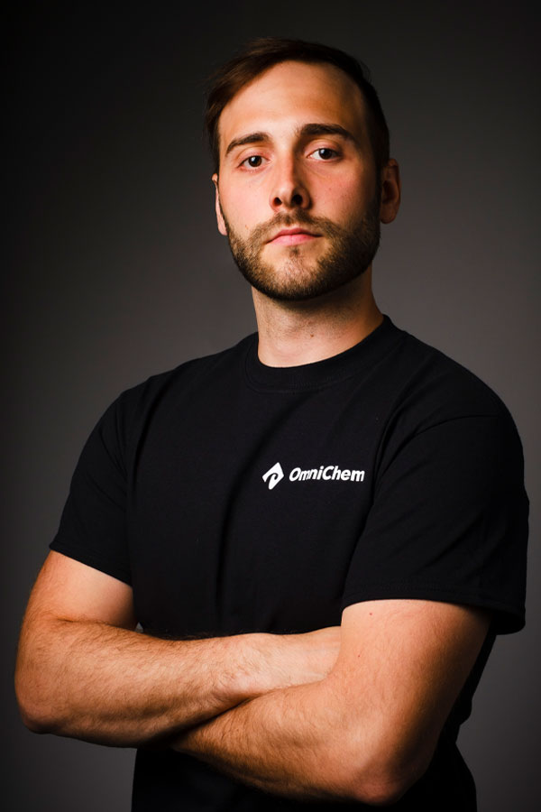 Alexandre Forget, part of the OmniChem team